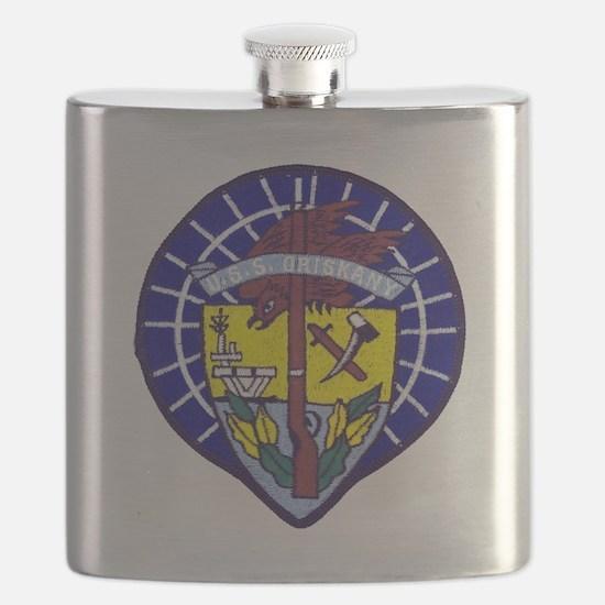 uss oriskany patch transparent Flask