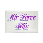 Air Force Wife ver2 Rectangle Magnet (100 pack)