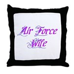 Air Force Wife ver2 Throw Pillow