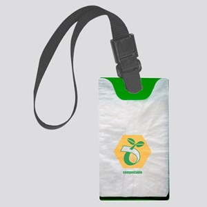 Biodegradable plastic bags Large Luggage Tag