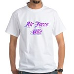 Air Force Wife ver2 White T-Shirt