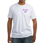 Air Force Wife ver2 Fitted T-Shirt