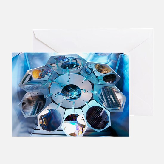 MEMS production, metal evaporation Greeting Card