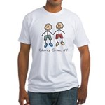 Gay Cherry Grove Fitted T-Shirt