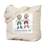 Gay Cherry Grove Tote Bag