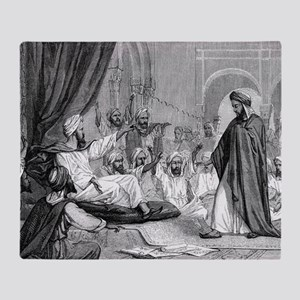 Averroes, Islamic physician Throw Blanket