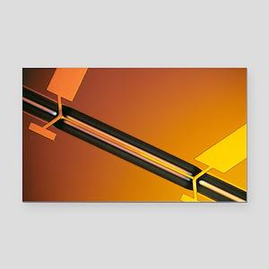 Miniature thermal conductivit Rectangle Car Magnet