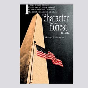 Character of an Honest Ma Postcards (Package of 8)
