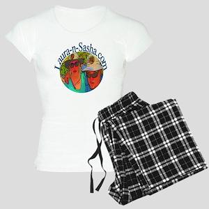 Laura-n-Sasha Logo Women's Light Pajamas