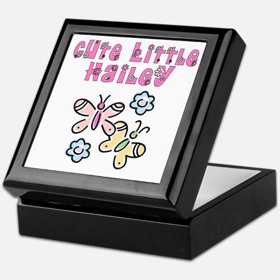 Cute Little Hailey Keepsake Box