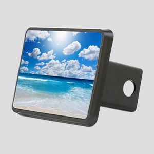Sunny Beach Rectangular Hitch Cover