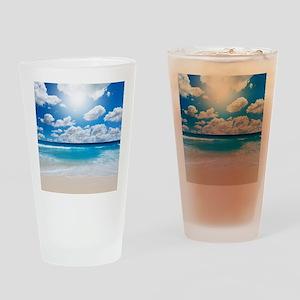 Sunny Beach Drinking Glass