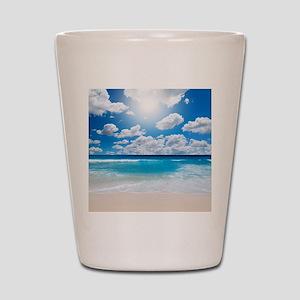 Sunny Beach Shot Glass