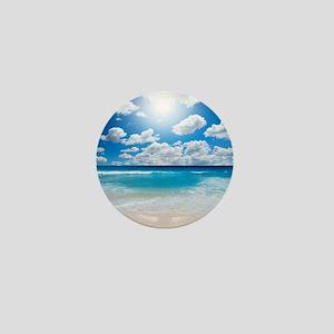 Sunny Beach Mini Button