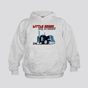 Little Shack Big Stacks Kids Hoodie