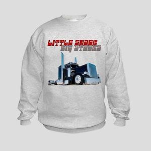Little Shack Big Stacks Kids Sweatshirt
