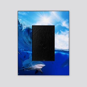 Shark Wave Picture Frame