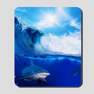Shark Wave Mousepad