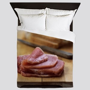 Bacon sandwich preparation Queen Duvet