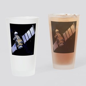 Military satellite Drinking Glass