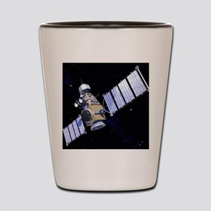 Military satellite Shot Glass