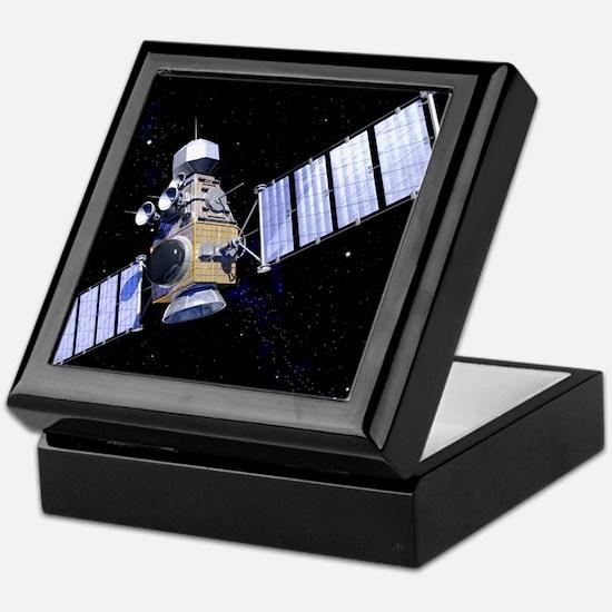 Military satellite Keepsake Box