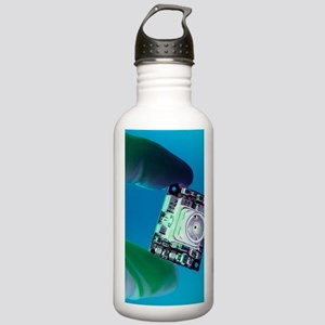 Miniature spy camera Stainless Water Bottle 1.0L