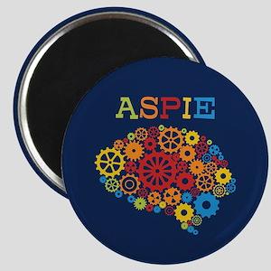 Aspie Brain Autism Magnet