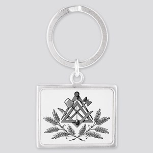 Workings Tools with laurel Landscape Keychain