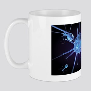 Bacteriophage virus particles Mug