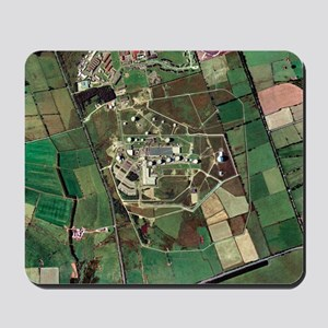 Menwith Hill spy base, aerial image Mousepad
