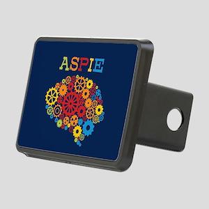 Aspie Brain Autism Rectangular Hitch Cover