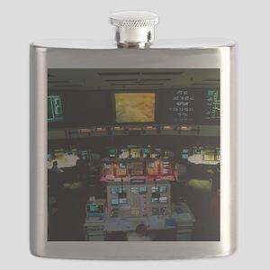 Mission Control at JPL, Pasadena, California Flask