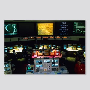 Mission Control at JPL, P Postcards (Package of 8)