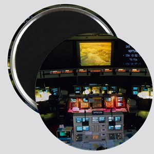 Mission Control at JPL, Pasadena, Californi Magnet