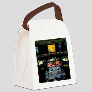 Mission Control at JPL, Pasadena, Canvas Lunch Bag
