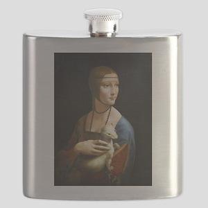 Lady With an Ermine - da Vinci Flask