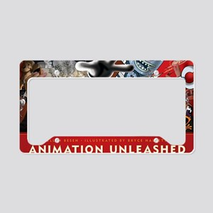 Animation Unleashed License Plate Holder