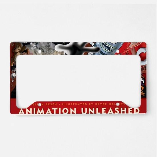 Animation Unleashed License Plate Holder