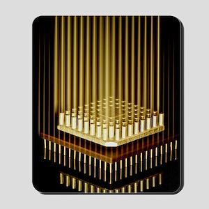 Microprocessor chip Mousepad