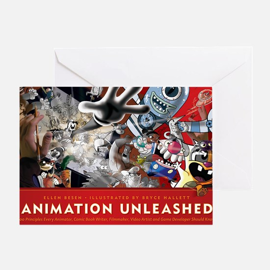 Animation Unleashed Greeting Card