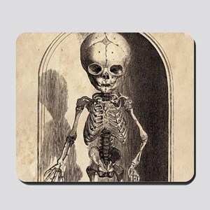 Skeletal Child Alcove Mousepad