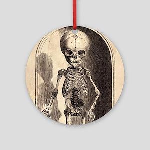 Skeletal Child Alcove Round Ornament