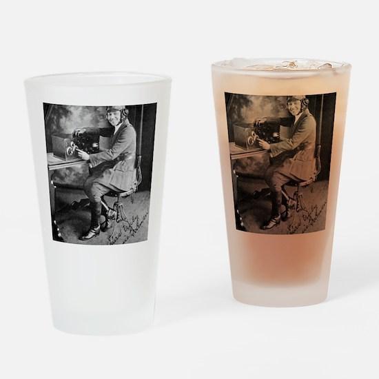 Bessie Coleman, US aviation pioneer Drinking Glass
