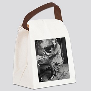 Bessie Coleman, US aviation pione Canvas Lunch Bag