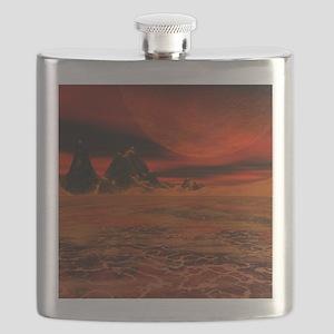 Molten planet Flask