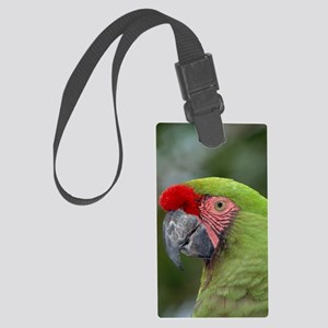 Military macaw Large Luggage Tag
