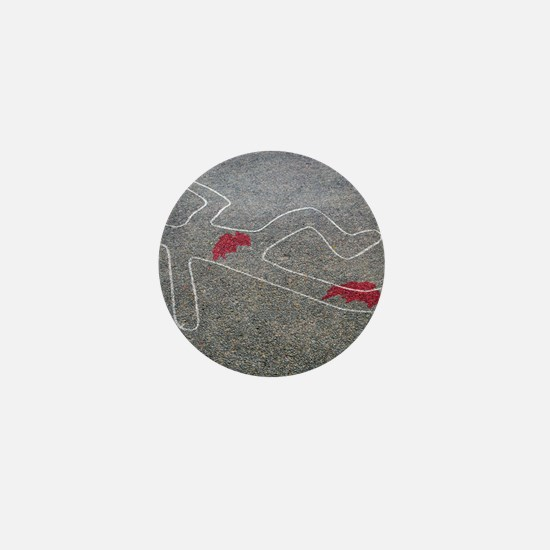 Body oultine Mini Button