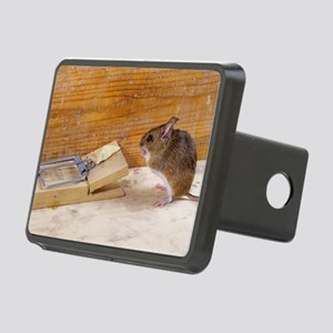 Mouse by a mousetrap Rectangular Hitch Cover