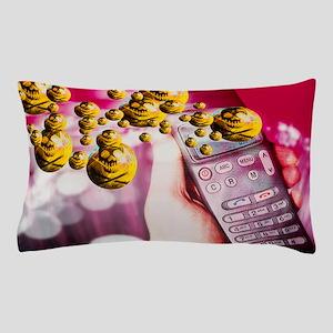 Mobile phone danger Pillow Case